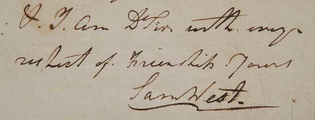 Revolutionary War Era Letter, 1782 - 7