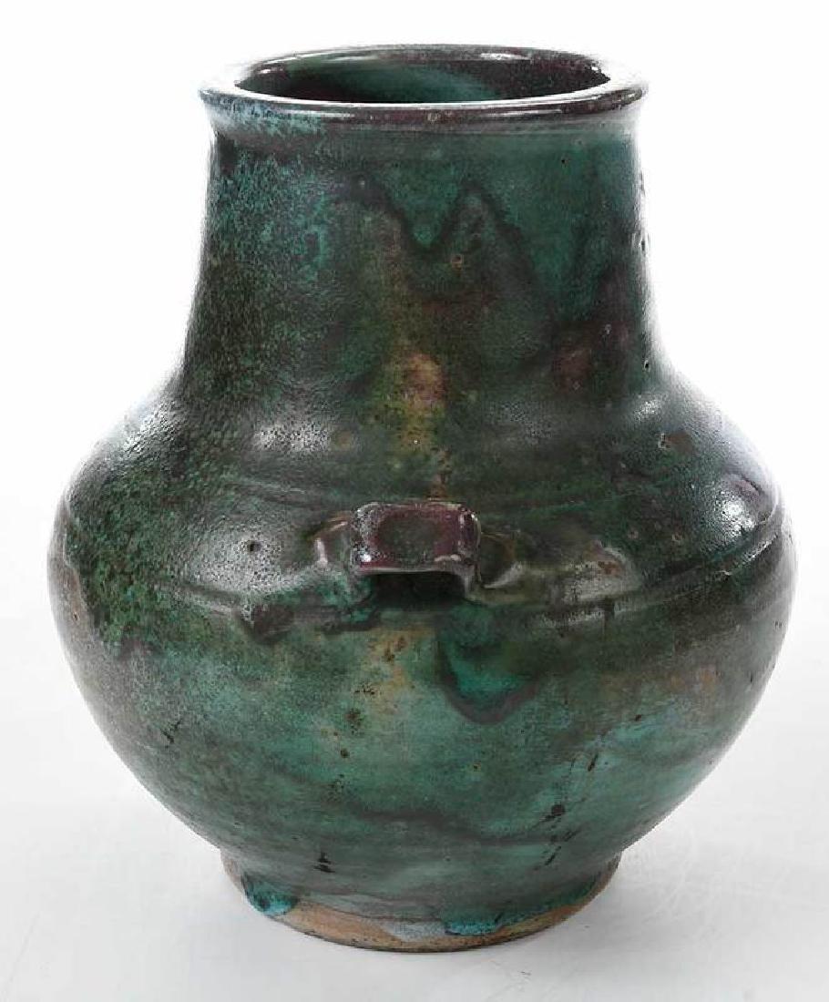 Jugtown Stoneware Vase - 2