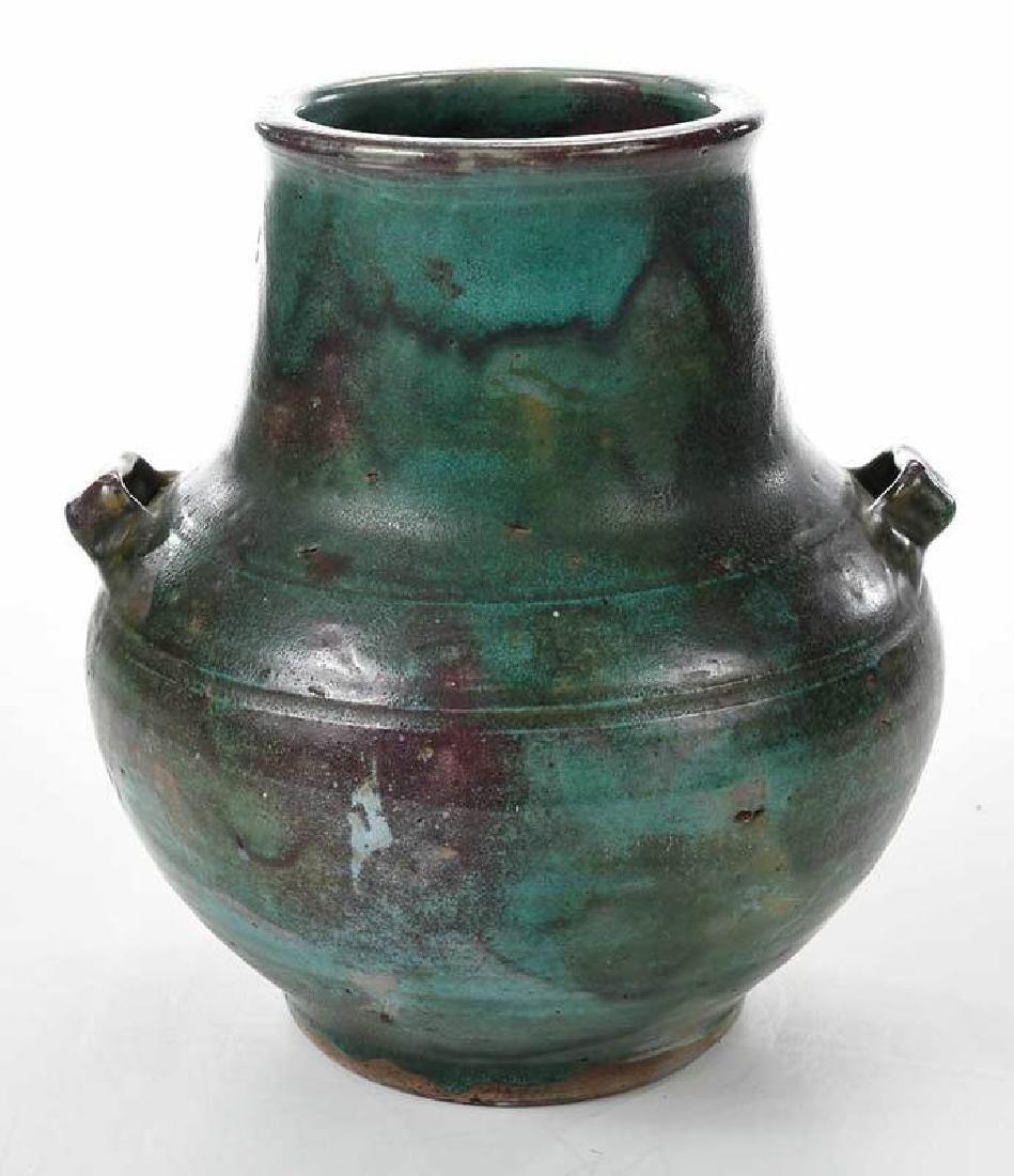 Jugtown Stoneware Vase - 3