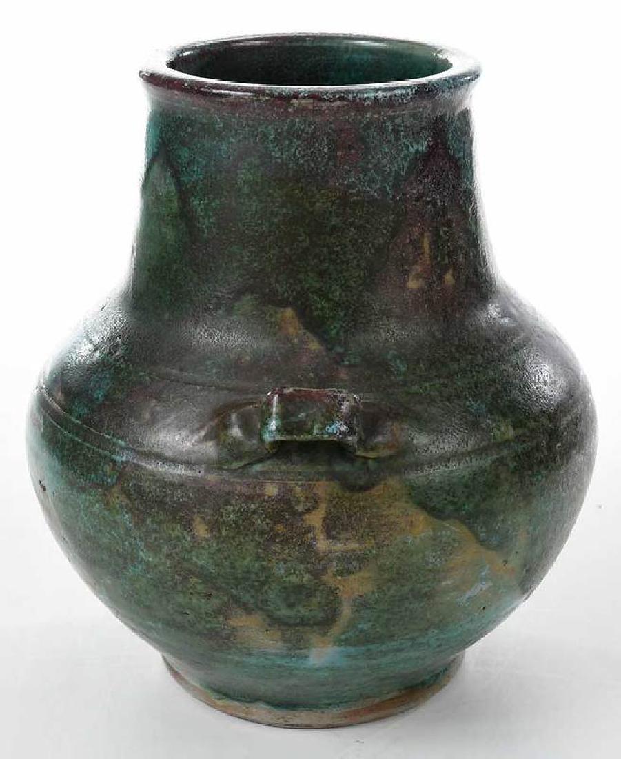 Jugtown Stoneware Vase - 4