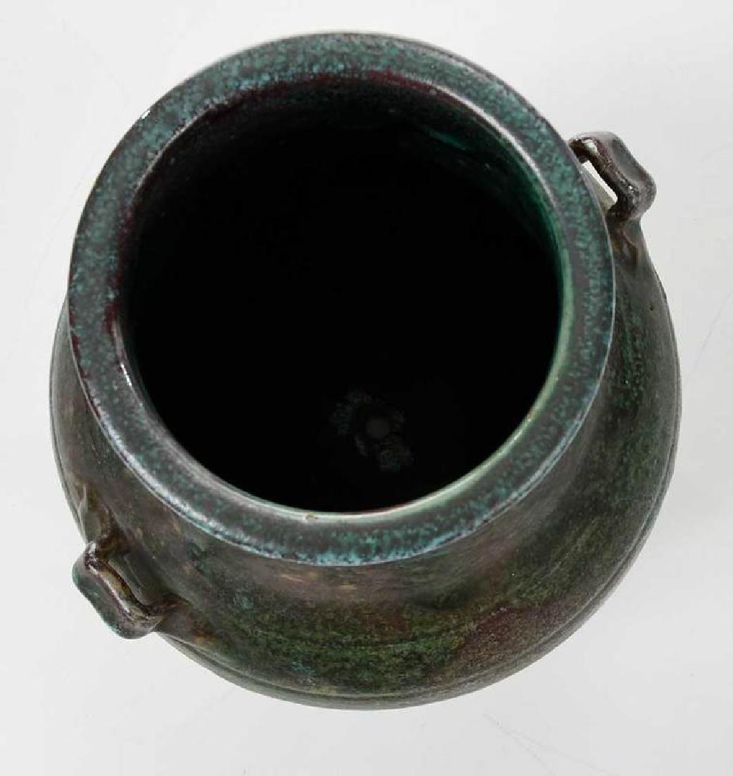 Jugtown Stoneware Vase - 6