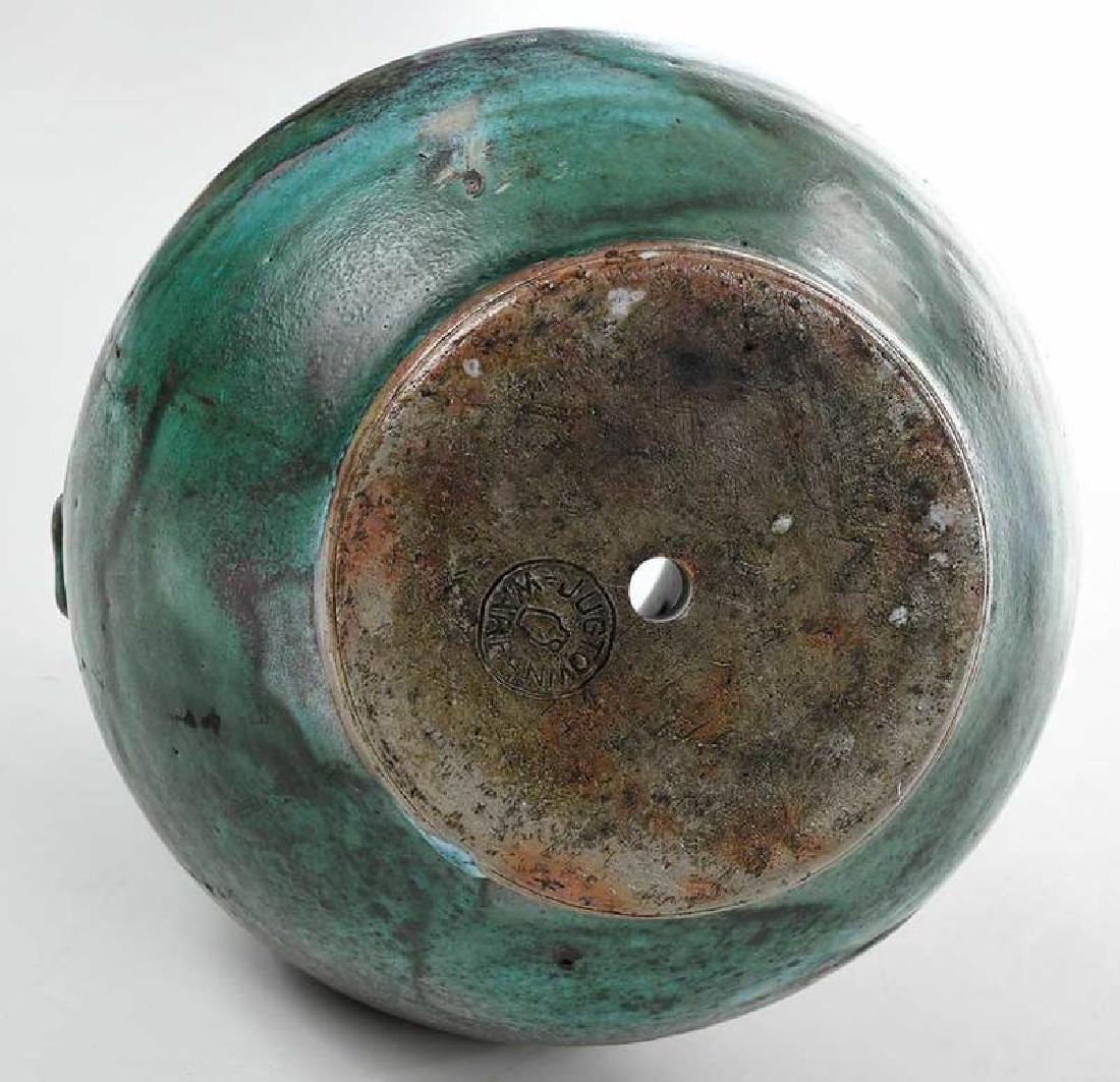 Jugtown Stoneware Vase - 8