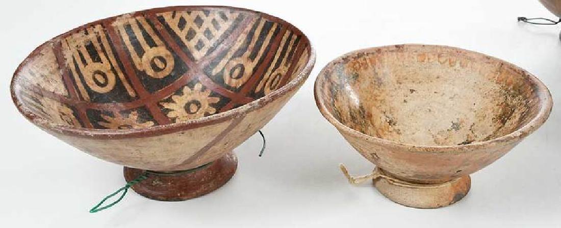 10 Narino Footed Pottery Bowls - 4