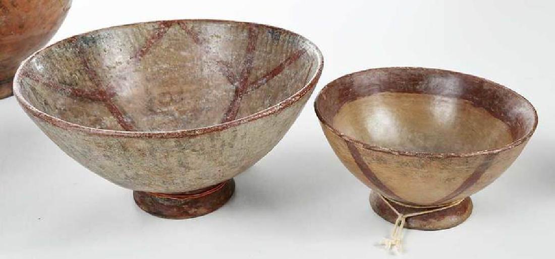 10 Narino Footed Pottery Bowls - 5