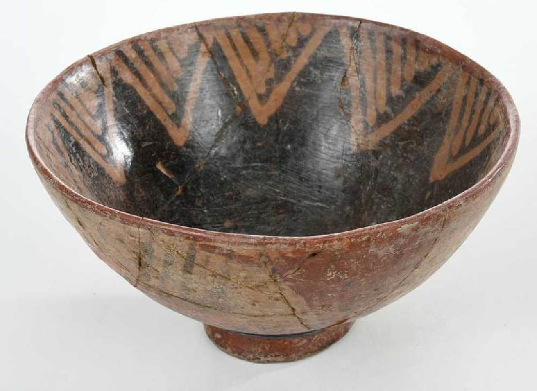 10 Narino Footed Pottery Bowls - 6