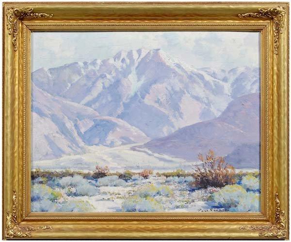 248: Paul Conner California painting