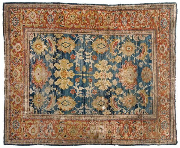 264: 19th century Sultanabad rug,