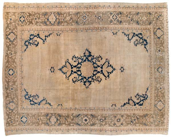 268: 19th century Sultanabad rug,