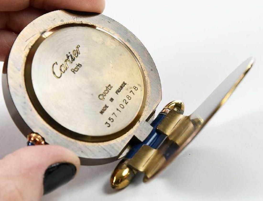 Vintage Cartier Paris Quartz Travel Clock - 2
