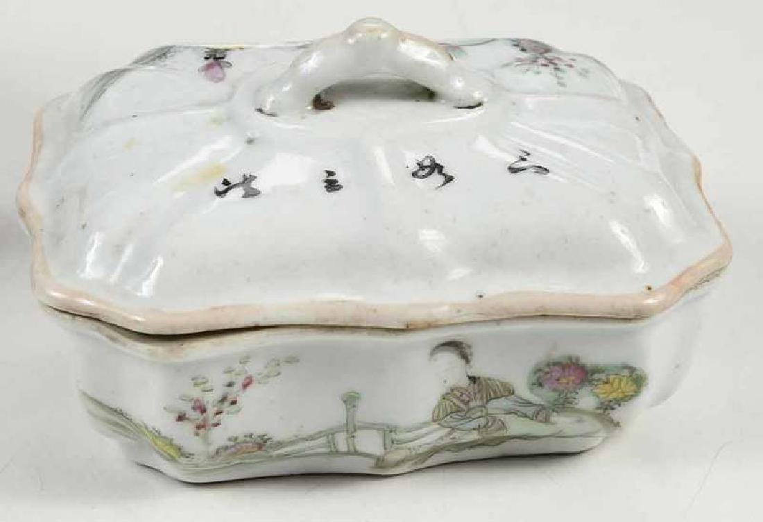 Group of Fourteen Asian Porcelain Table Items - 3