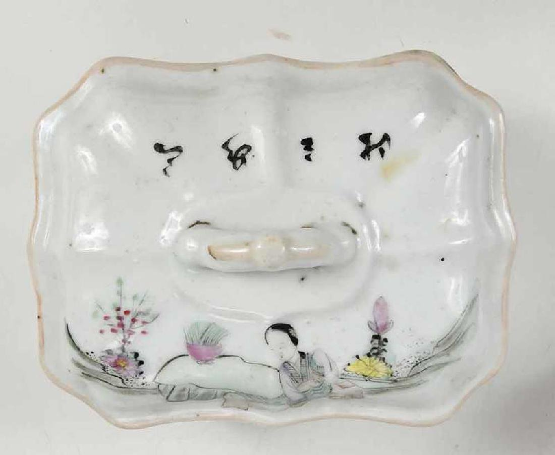 Group of Fourteen Asian Porcelain Table Items - 4