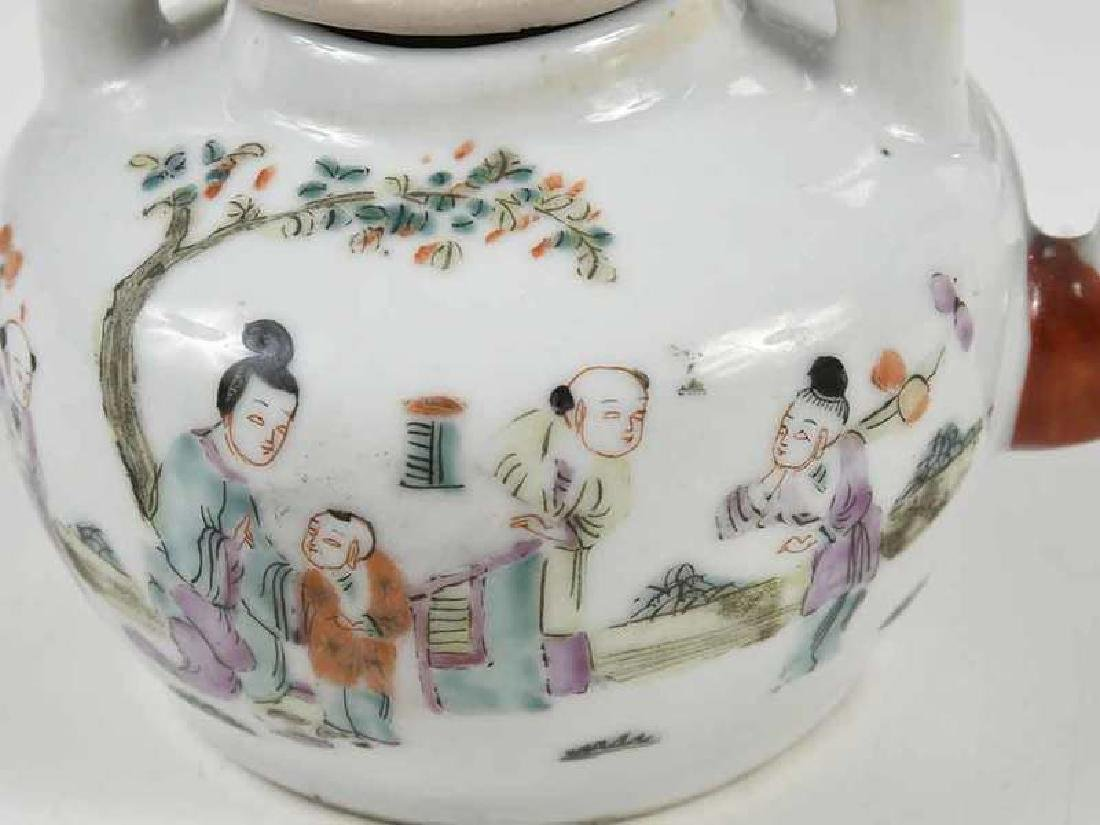 Group of Fourteen Asian Porcelain Table Items - 5