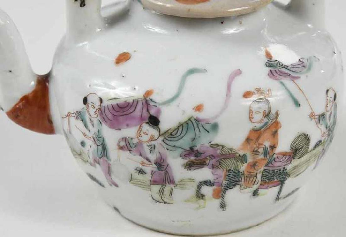 Group of Fourteen Asian Porcelain Table Items - 6