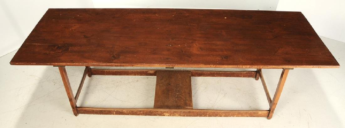 American Shaker Style Pine Harvest Table - 2