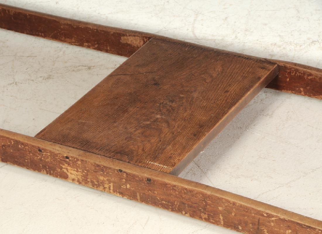American Shaker Style Pine Harvest Table - 3