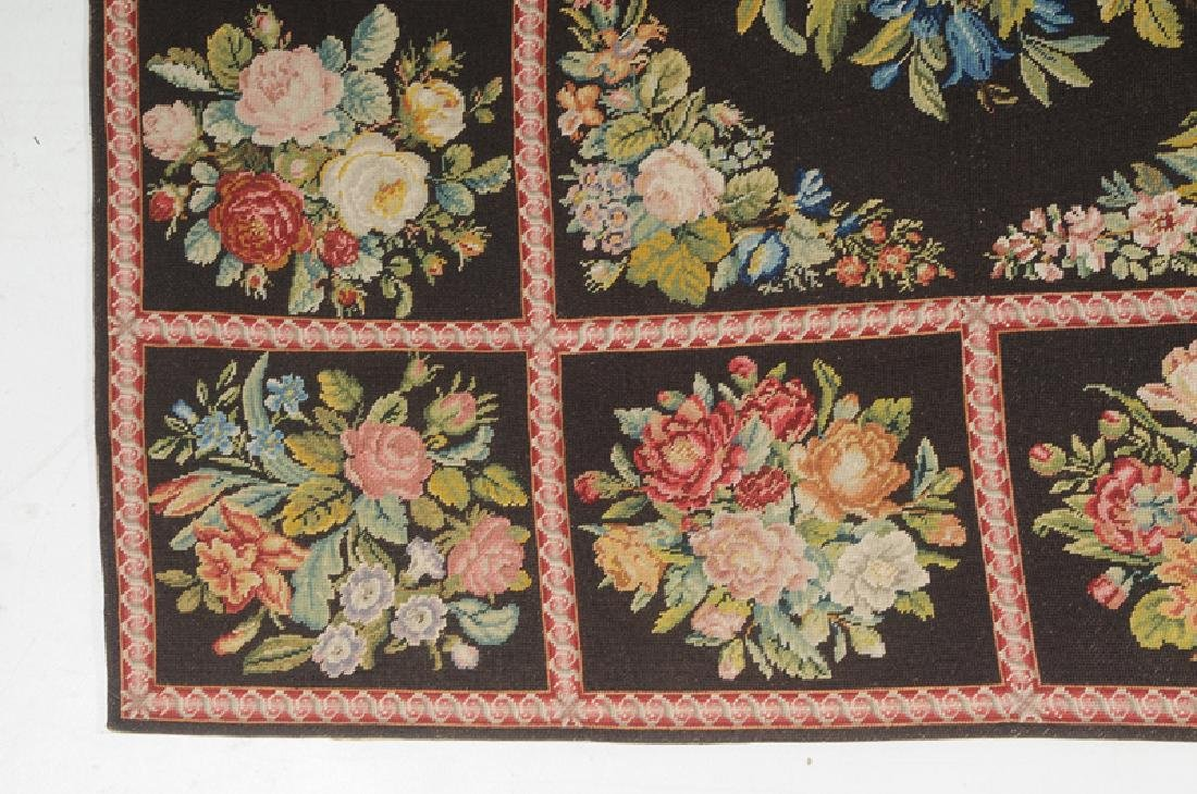 Floral Needlepoint Carpet - 2