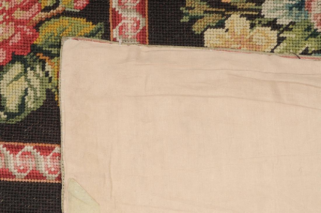Floral Needlepoint Carpet - 3