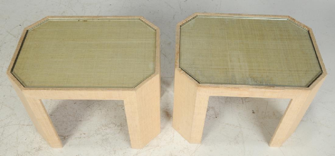 Pair Lorin Marsh Side Tables - 2