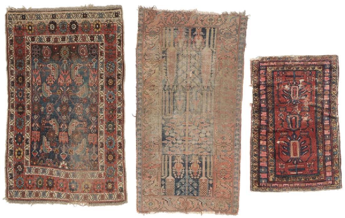 Three Persian Rugs
