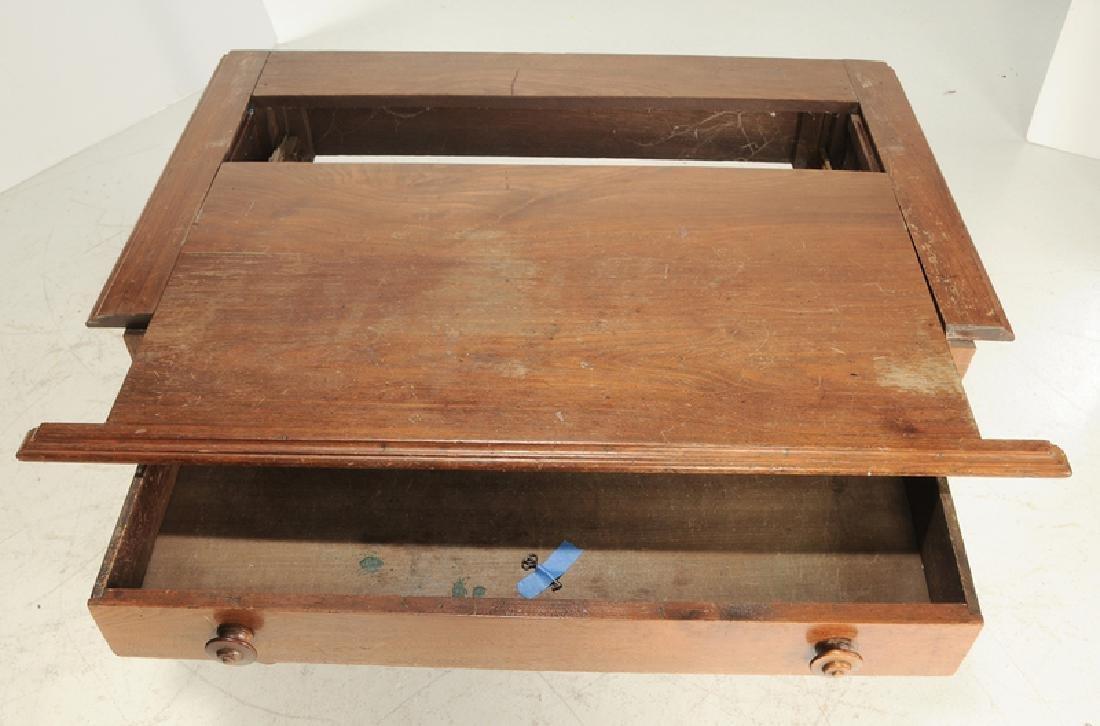 Kentucky Attributed Walnut Bookcase on Desk - 2