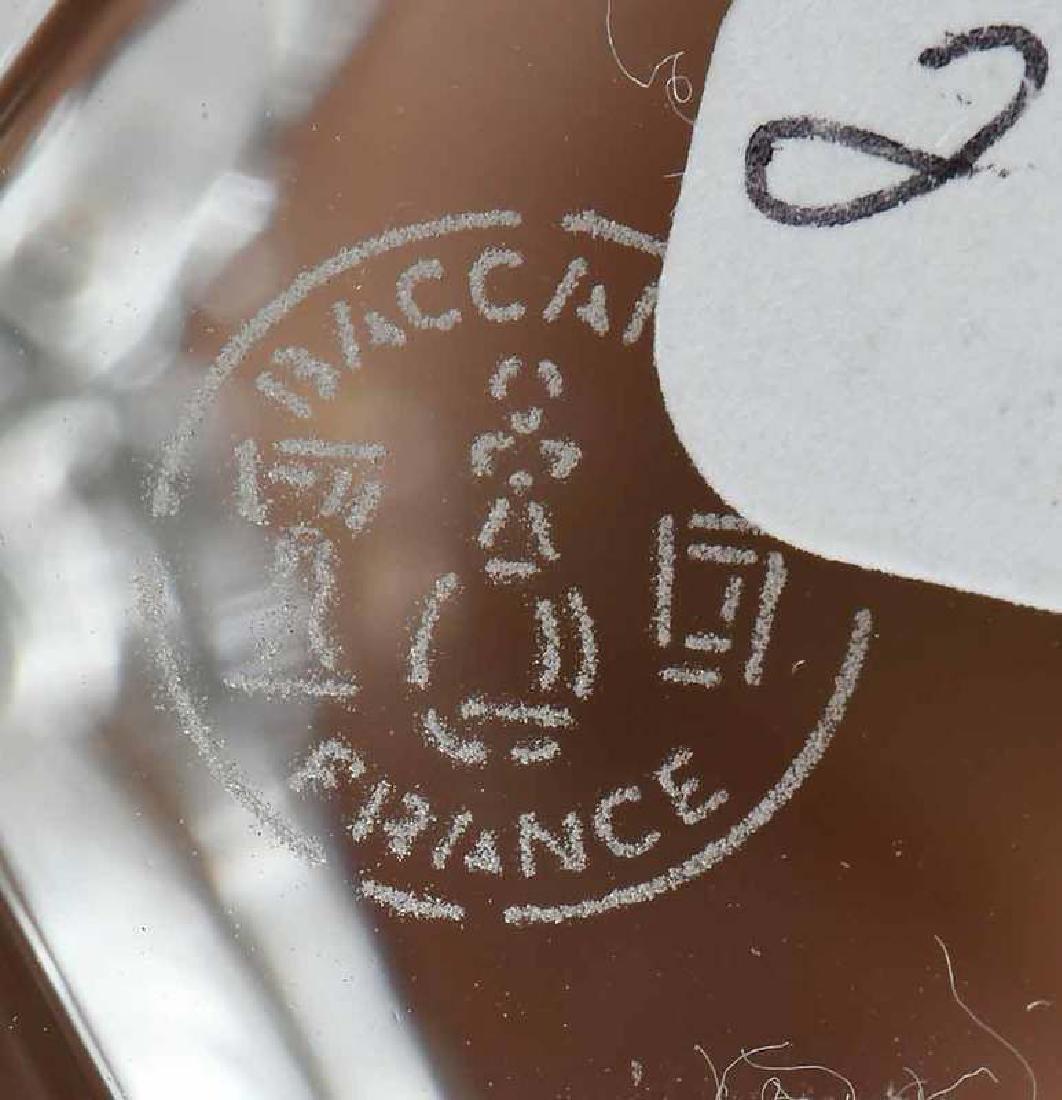17 Pieces Baccarat Crystal - 9
