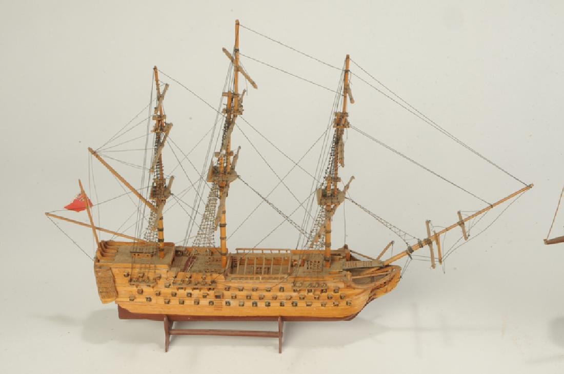 Three English Ship Models - 2