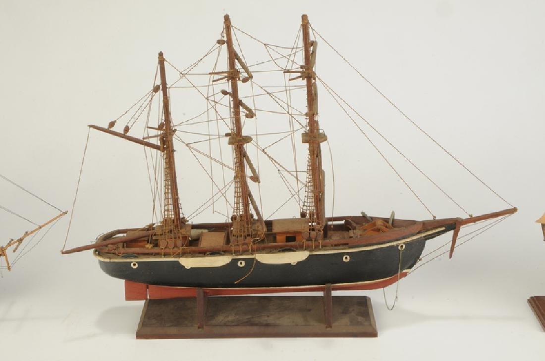 Three English Ship Models - 3