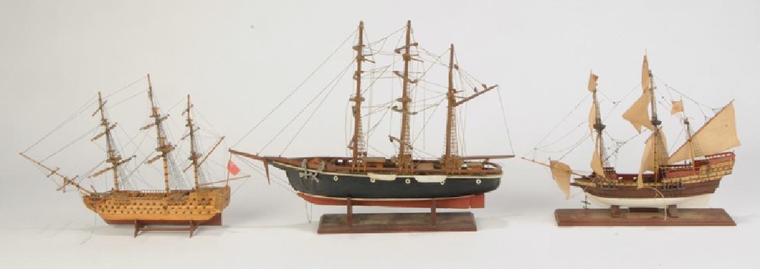 Three English Ship Models - 5