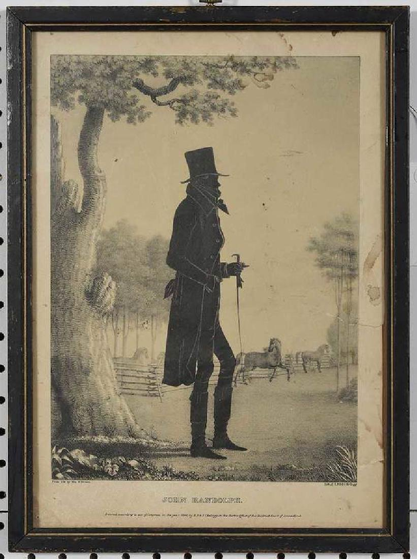 Eight Silhouette Drawings and Lithographs - 2
