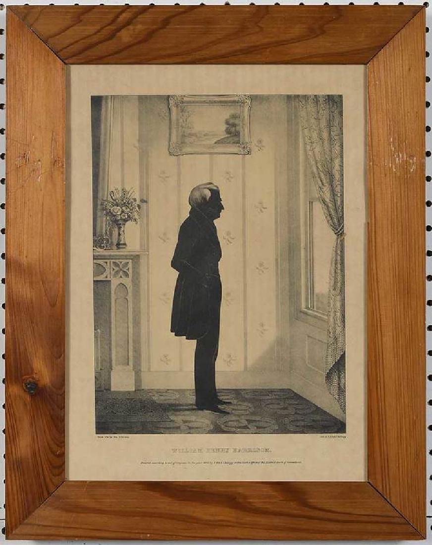 Eight Silhouette Drawings and Lithographs - 4