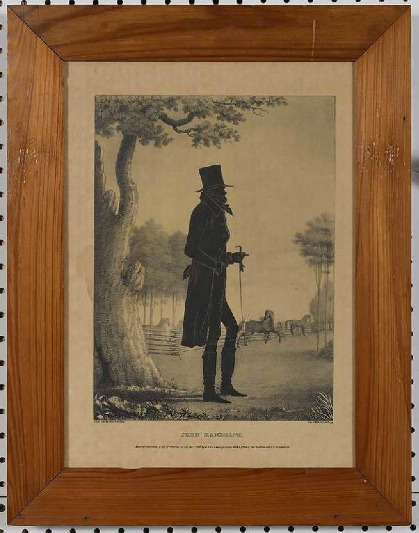 Eight Silhouette Drawings and Lithographs - 5