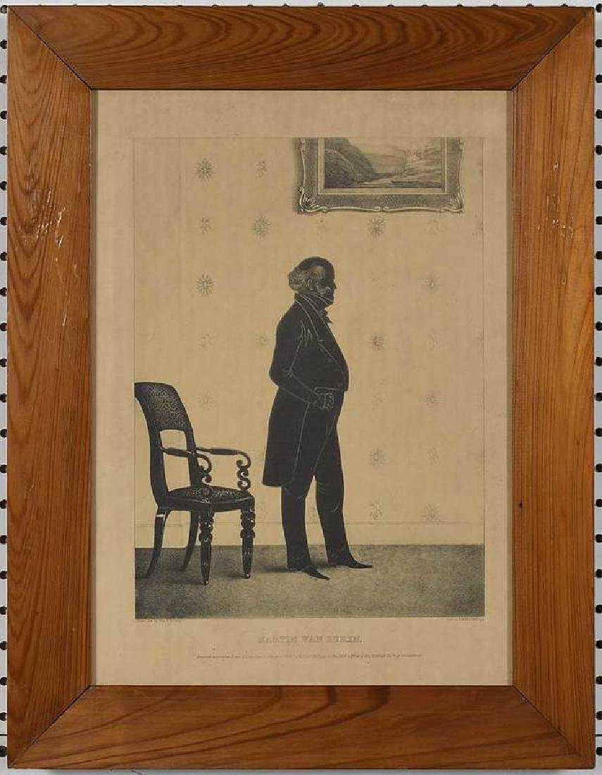 Eight Silhouette Drawings and Lithographs - 6