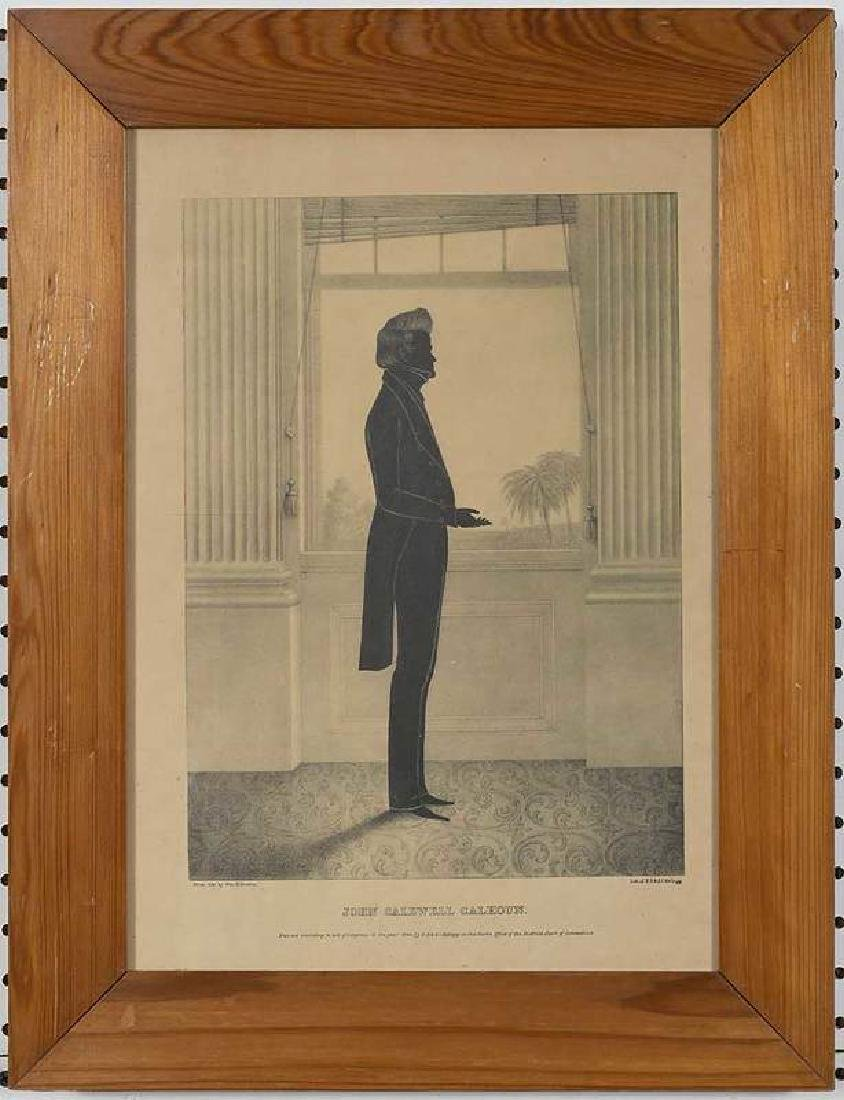 Eight Silhouette Drawings and Lithographs - 7