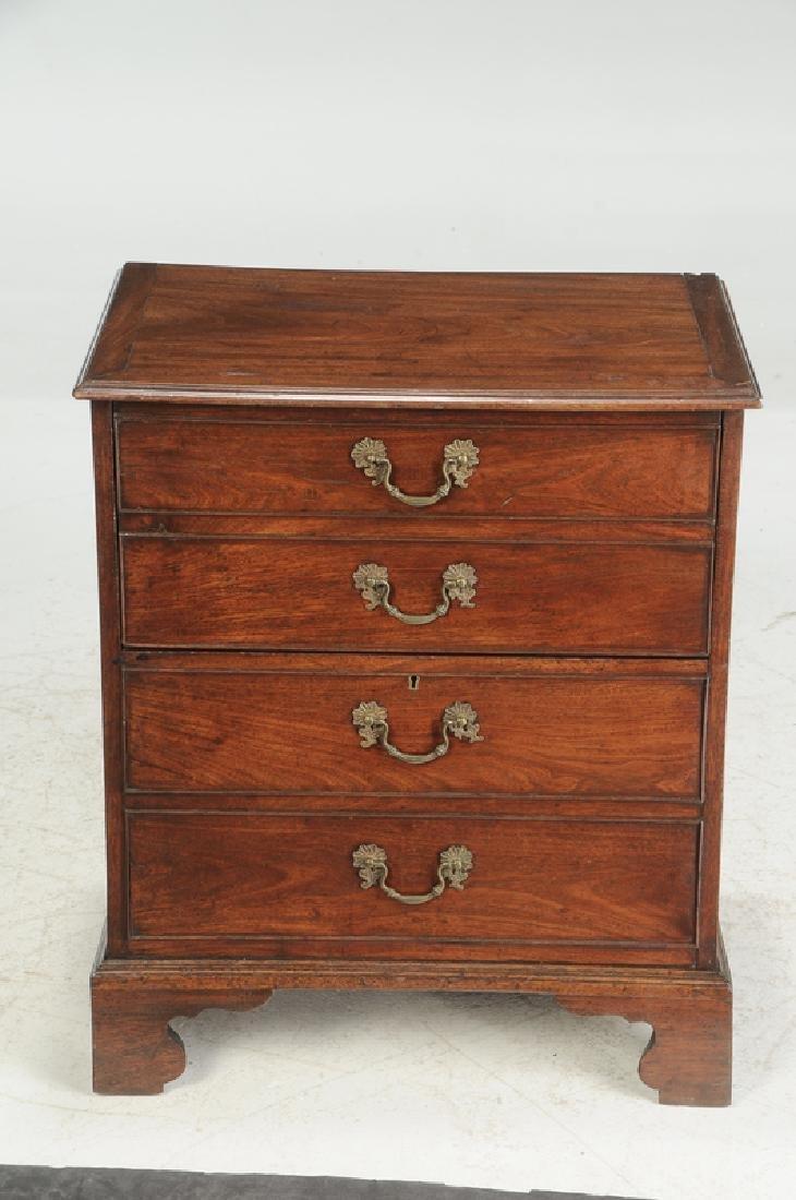 George III Mahogany Cabinet - 2