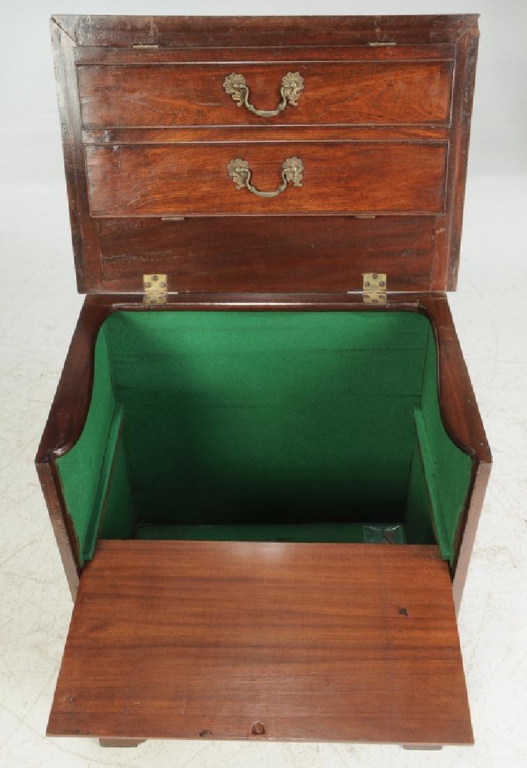 George III Mahogany Cabinet - 4