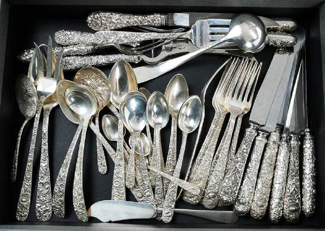Kirk Repousse Sterling Flatware, 51 Pieces - 6
