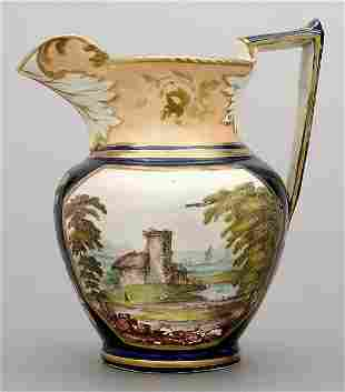 Luster ware pitcher,