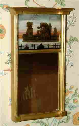 Federal-style mirror,