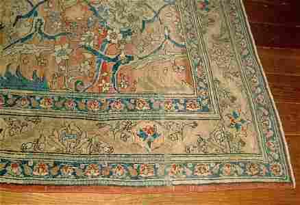 85: Tabriz rug,