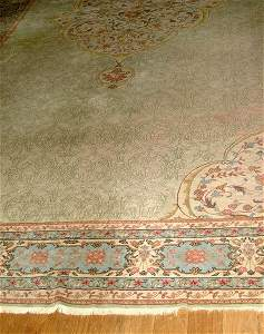 90: French Savonnerie rug,