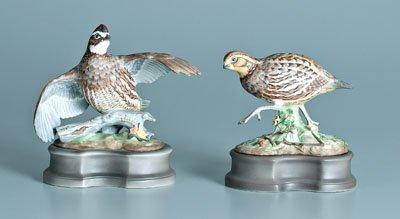 2: Two Boehm porcelain bird figurines: