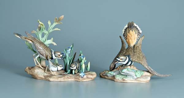 3: Two Boehm porcelain bird figurines: