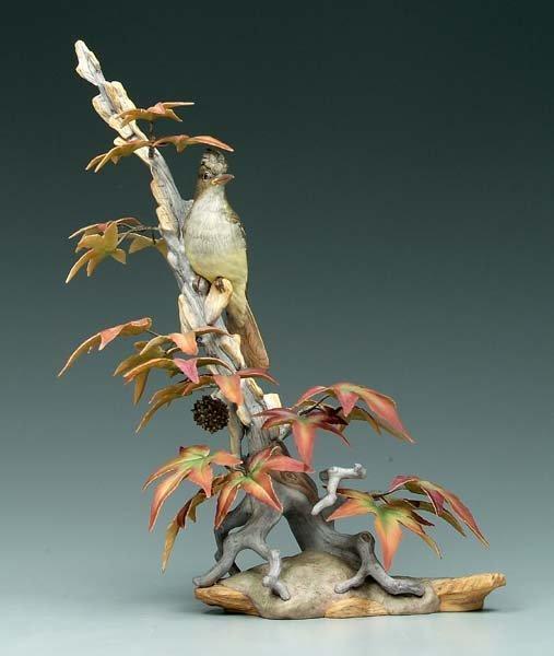 4: Boehm bird figurine,