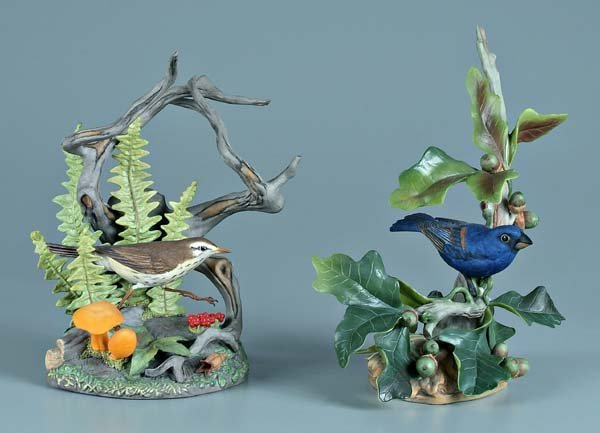 5: Two Boehm porcelain bird figurines: