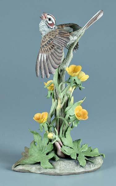 6: Boehm porcelain bird figurine,