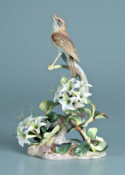 7: Boehm porcelain bird figurine,