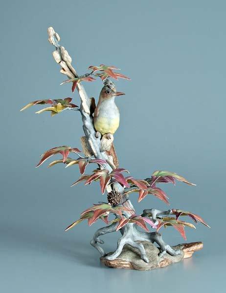 14: Boehm porcelain bird figurine,