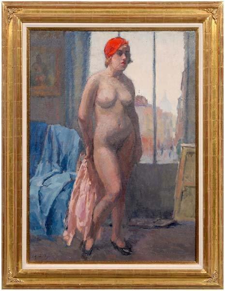 293: Elie Anatole Pavil painting