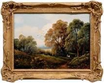 671: British School painting,