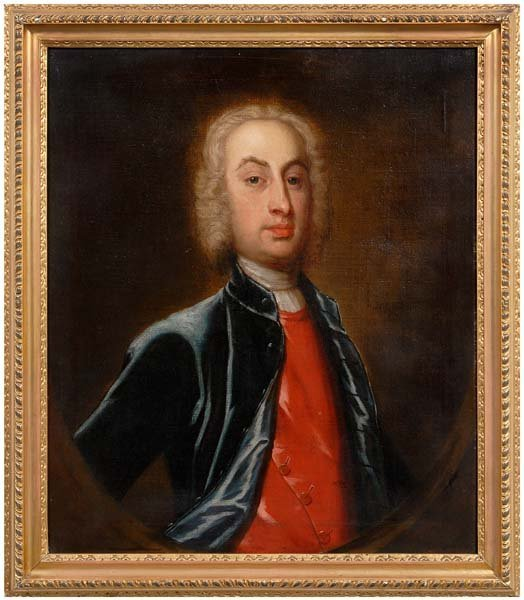 680: 18th century British School portrait,